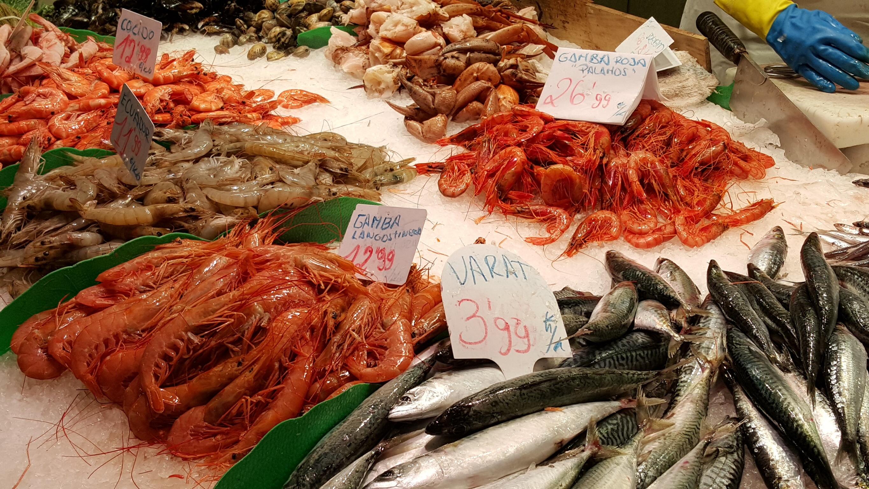 Boqueria seafood