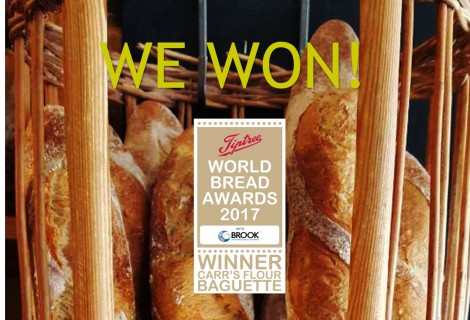 November news: Bread Awards Success!
