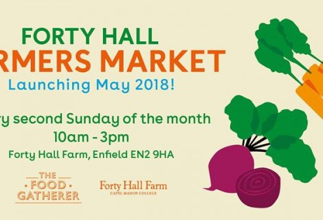 New monthly Farmers Market at Forty Hall Farm